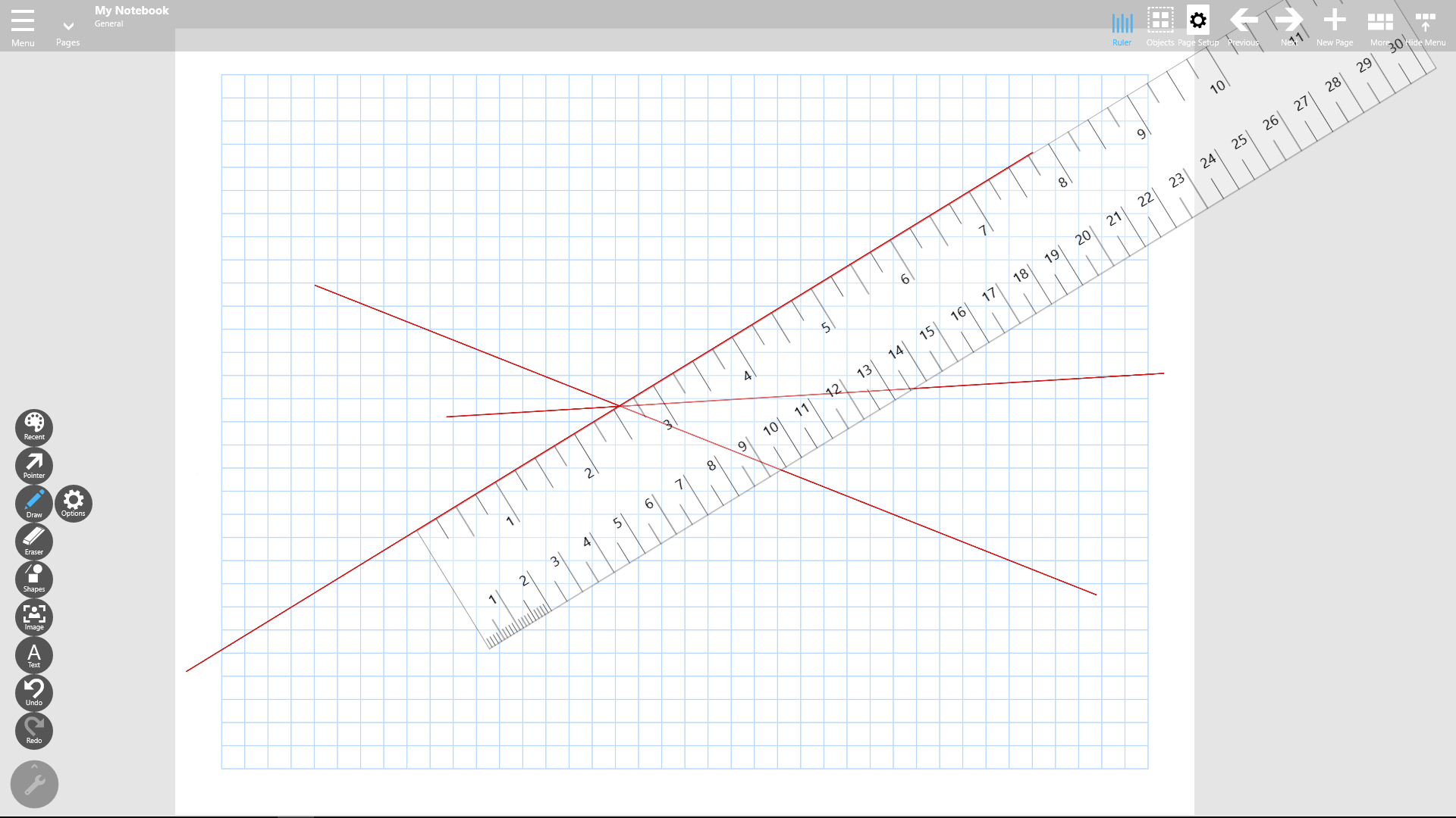 Notebook Pro 2 0 Gets Virtual Rulers for Digital Paper